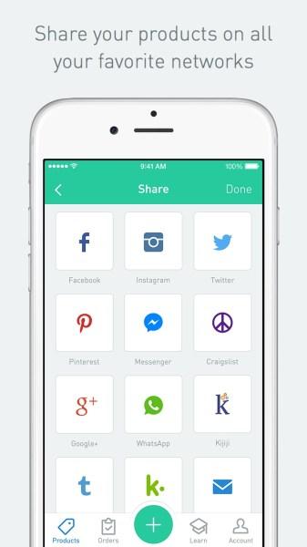 Sello - iPhone - Share