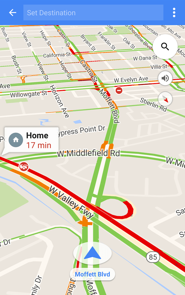 Quickest Route Home