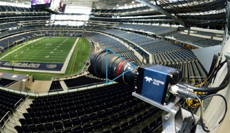 The Dallas Cowboys stadium also has Replay Technologies cameras.
