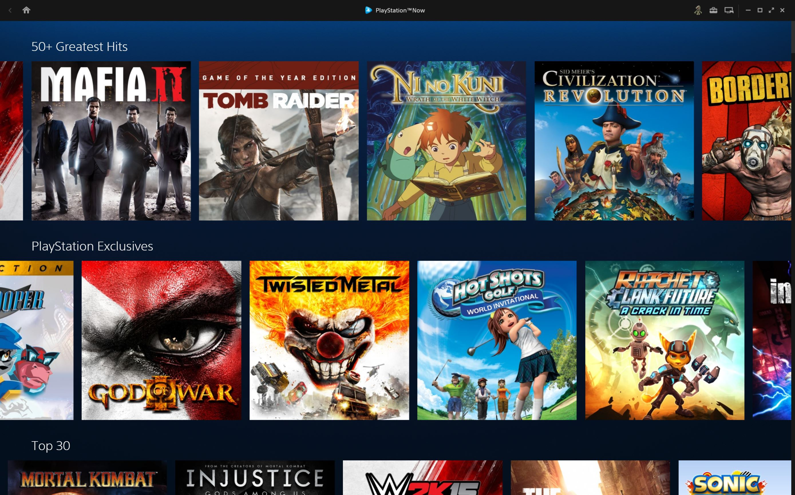 Playstation Now Welcome To 2014 Ps4 Games Coming To Sony