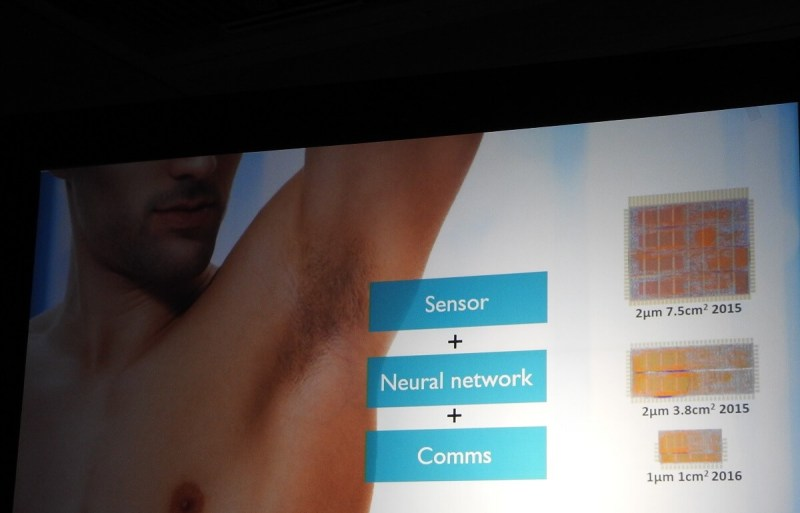 A Unilever sensor can detect if you need more deodorant.