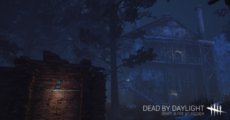 The haunting atmosphere of Dead by Daylight.