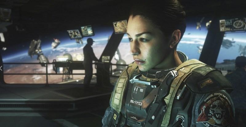 Nora Salter is the main sidekick in Call of Duty: Infinite Warfare.