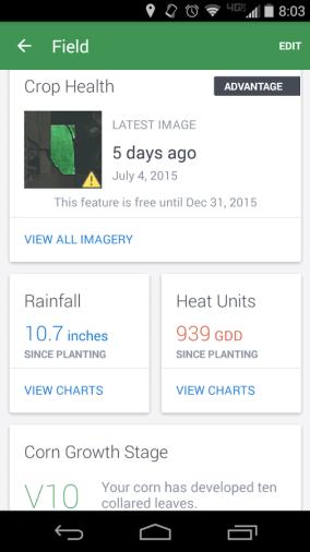 FarmLogs: Android App
