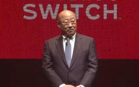 Nintendo president Tatsumi Kimishima..