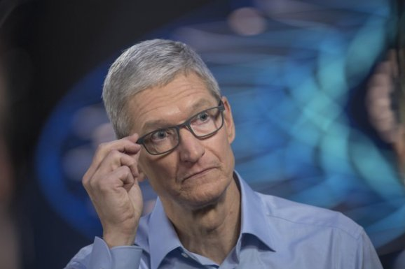 Apple CEO Tim Cook received 46% compensation bump to $12.8 million due to firm's 2017 rebound