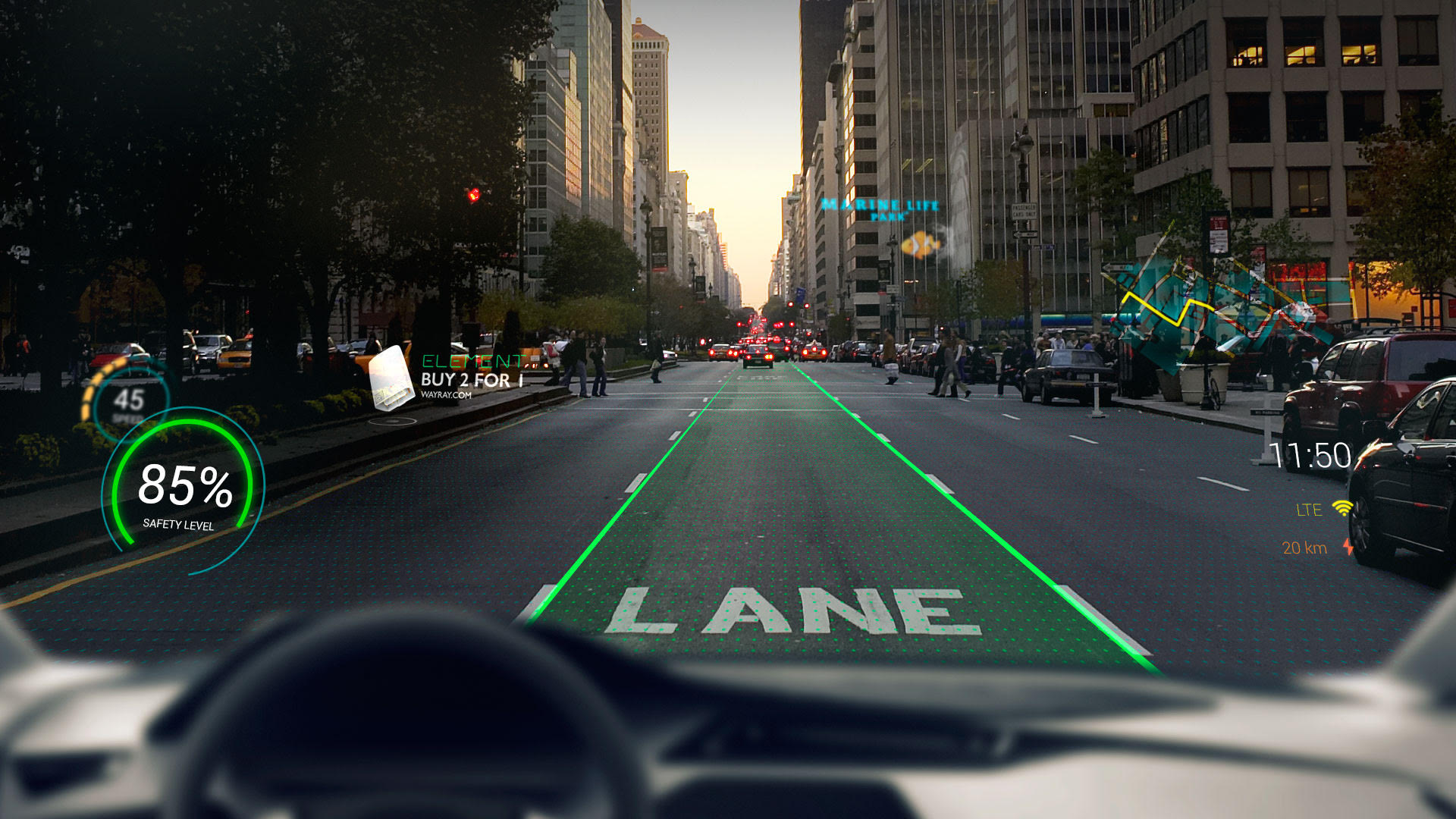 Augmented Reality S Future Isn T Glasses It S The Car Venturebeat