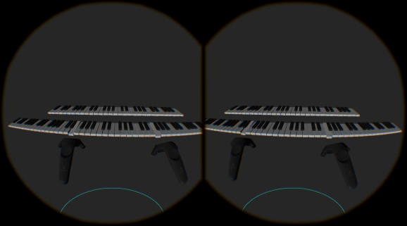 Chordano, a WebVR Piano, by Mike Bolt