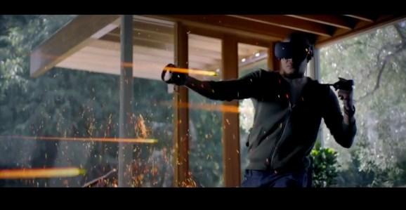 Oculus shows off the wireless VR headset Santa Cruz.