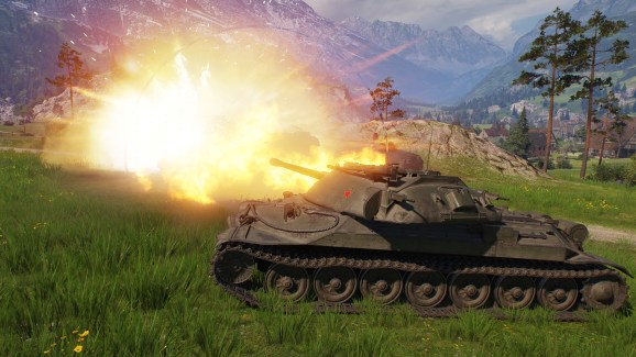 World of Tanks will launch its Update 1.0 in March for PC