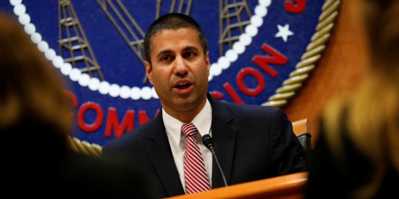 ajit_pai_mouth_open Senate votes to reinstate net neutrality
