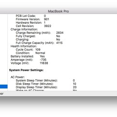 0 Amperage Macbook Battery Pioneer Deh P3500 Wiring Diagram Users Claim Apple Overstates Standby Life And In Antoniou S Case A 12 Inch Is Seeing 7 Percent Loss Per Day Over Twice The Expected Amount Leading To What He Describes As Near Charge At