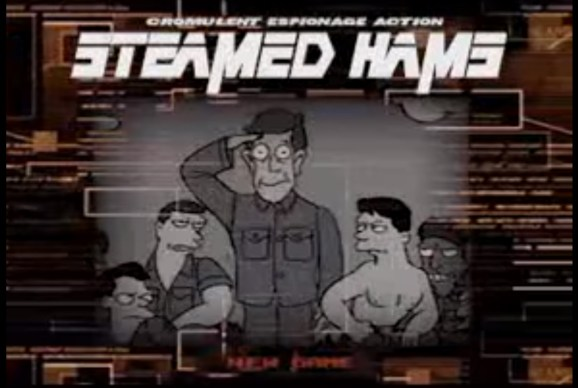 Steamed Hams from 'The Simpsons' is best with Metal Gear Solid