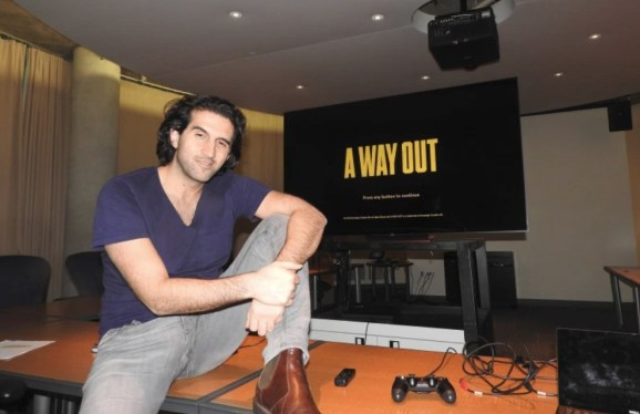 Josef 'f*** the Oscars' Fares exhibits A Way Out, his co-op jailbreak recreation