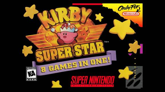 kirbysuperstarart The RetroBeat: 1996's Kirby Super Star remains the pink hero's best outing