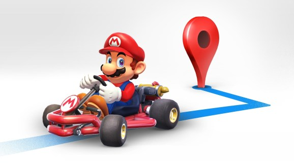 Google Maps Marks Mario Day By Adding A Super Mario Kart