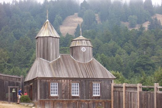 Fort Ross, California was originally a Russian settlement.