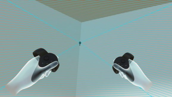 Sensor Bounds reveals your monitoring quantity when you're inside VR