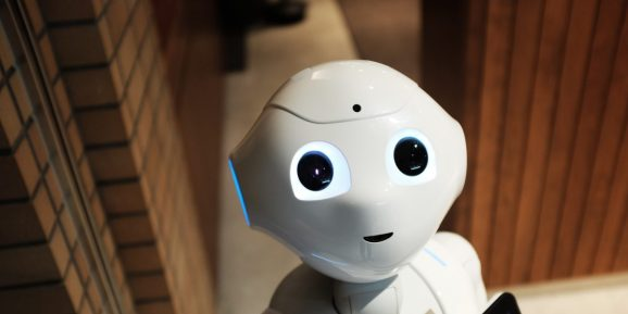 Pepper the robot from Softbank Robotics