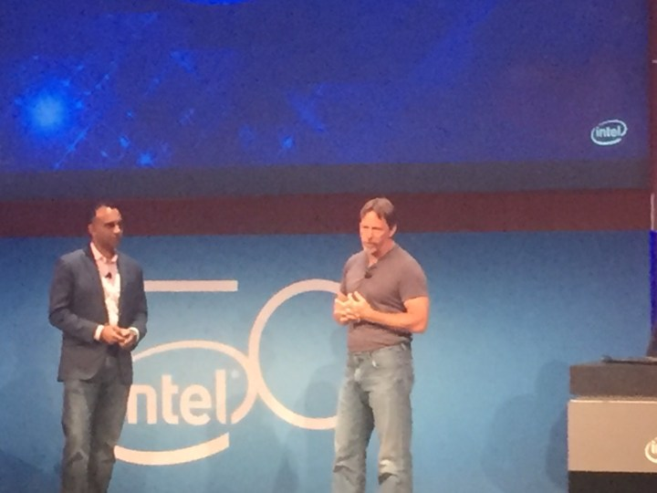 Intel's Navin Shenoy and Jim Keller