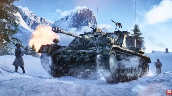A new tank in Battlefield V