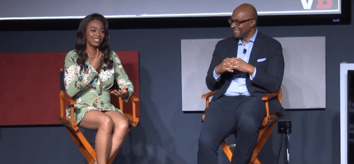 with Stanley Pierre-Louis, Acting President & CEO of Entertainment Software Association and moderated by Keisha Howard, Founder of Sugar Gamers - Details - Boss Stage