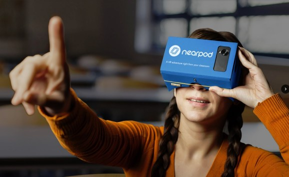 Nearpod makes inexpensive VR adventures for the classroom.