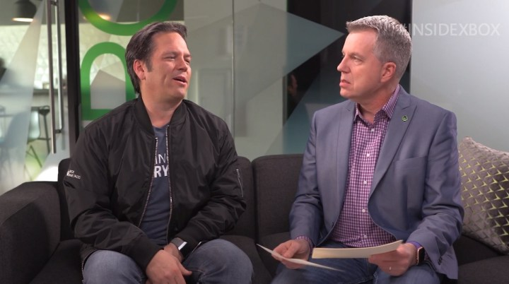 Phil Spencer and Larry Hryb