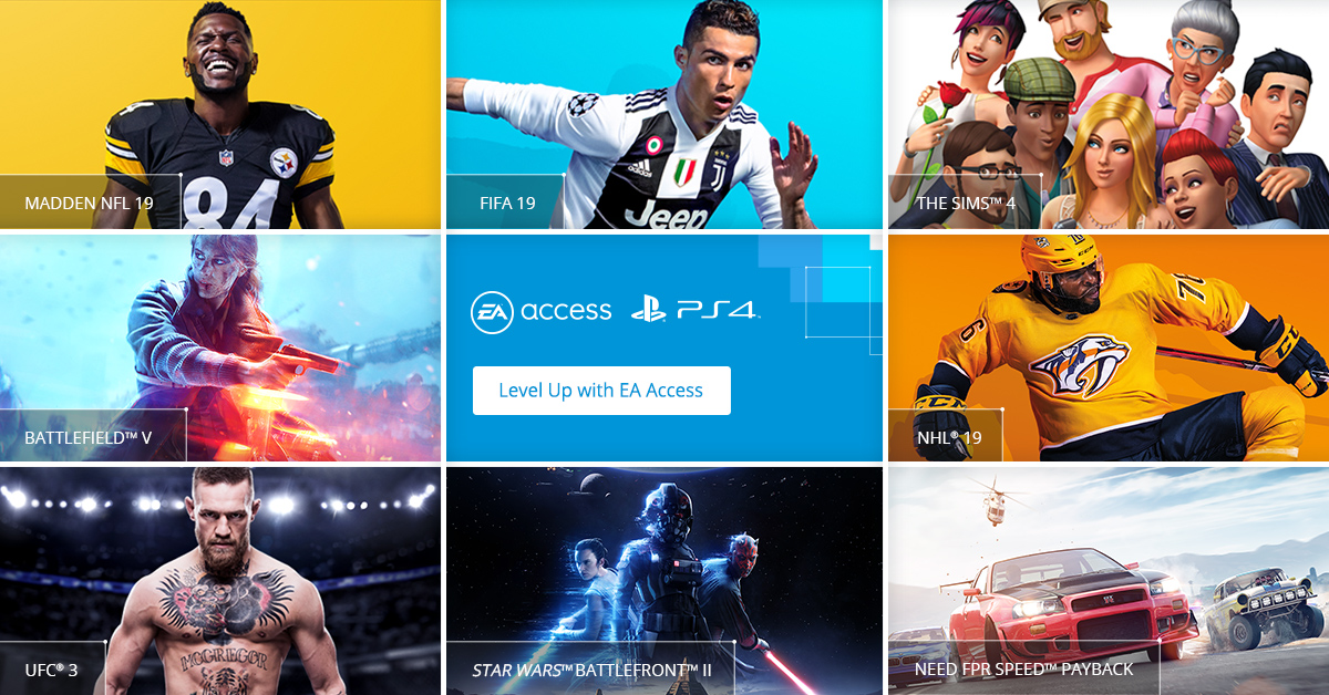 Ea Access Comes To Playstation 4 Nearly 5 Years After