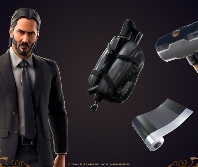 Fortnite Launches An In Game John Wick Bounty Hunt