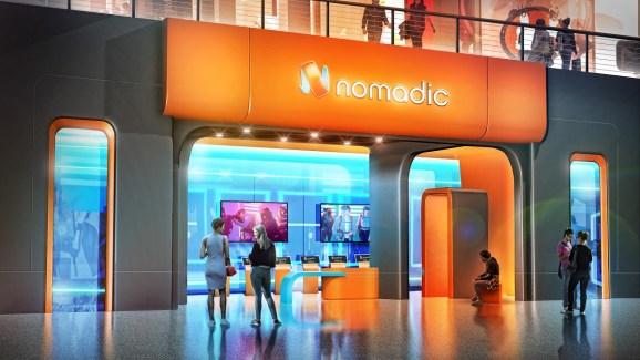 Nomadic's new VR location in Las Vegas.