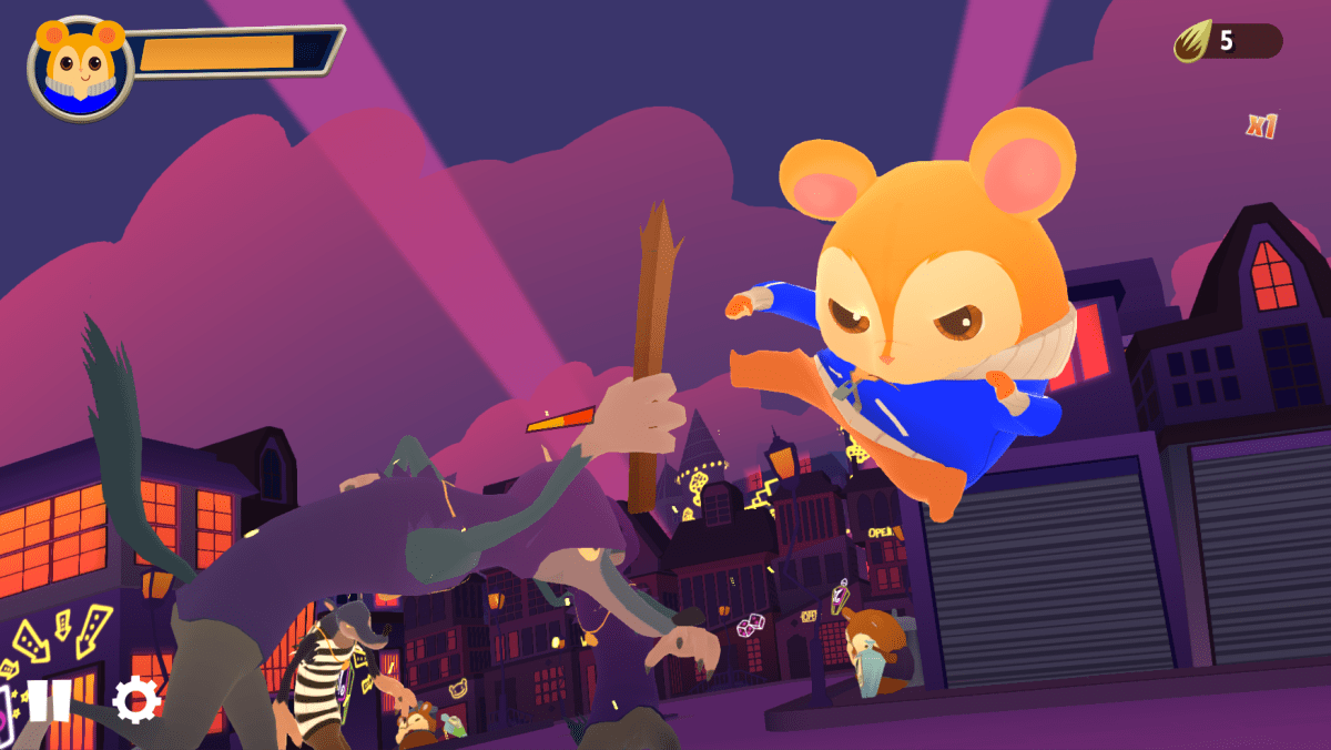 Hamsterdam Is The Fighting Hamster Game Coming Out August