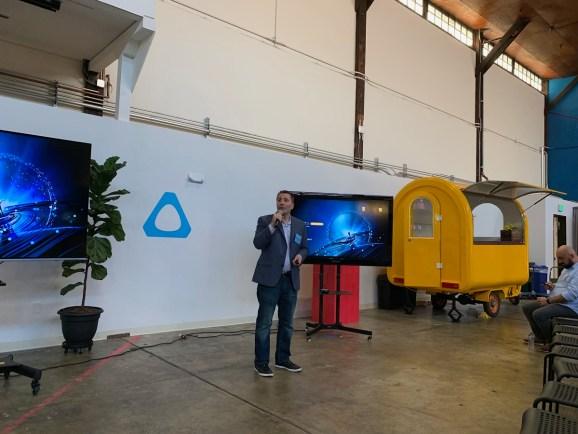 Marc Metis is the global head of Vive X.