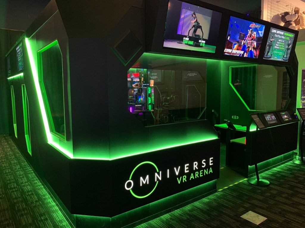 Virtuix Debuts Vr Arena At Dave Buster S In Austin