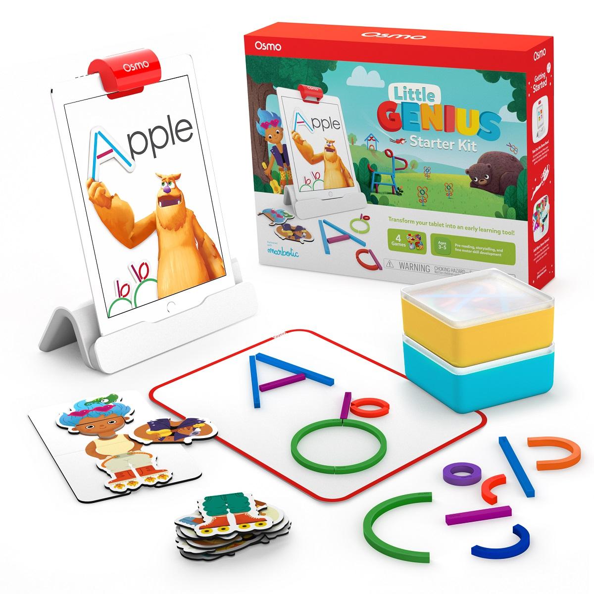 Osmo Little Genius Starter Kit Targets Preschoolers With