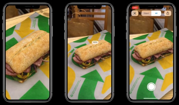 Subway has used Google's wrapper to put a virtual sandwich on the table in front of you so you can take a 3D look before ordering.