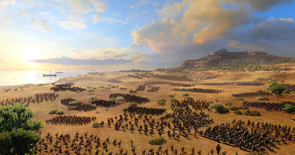 Total War Saga Troy Will Debut In 2020 Venturebeat
