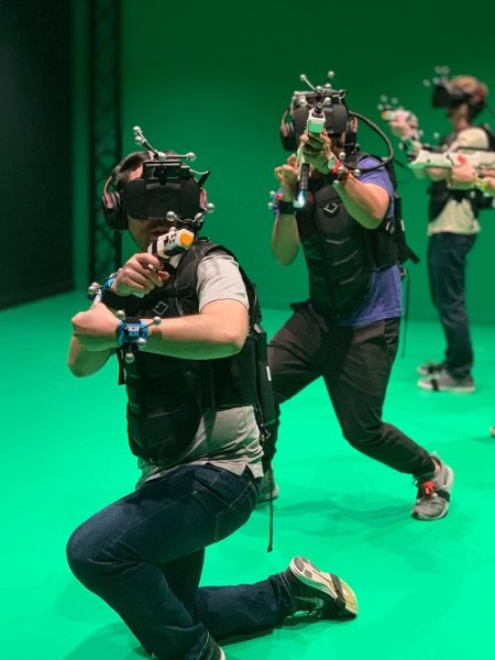 Sandbox VR gives you freedom of movement in virtual reality.