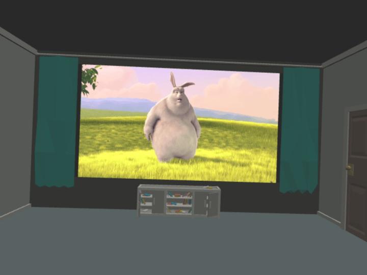 Big Bunny WebXR Device API