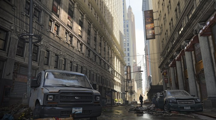 The streets of Lower Manhattan are a lonely place in The Division 2.