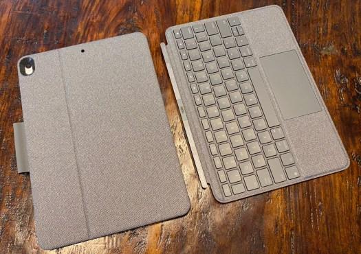 Hands-on: Logitech's iPad trackpad keyboards create $500 Apple laptops 2