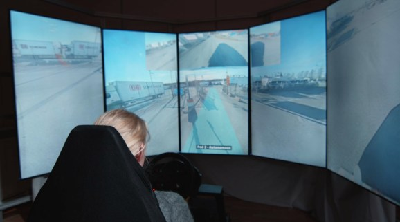 Einride operators will be able to control multiple autonomous trucks from a single remote drive station