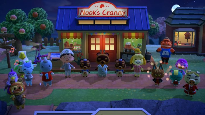 Animal Crossing: New Horizons is about family.