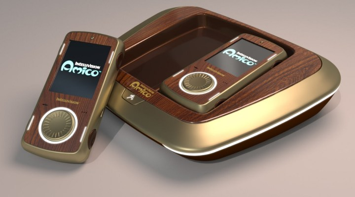 The Intellivision Amico has a wood-paneled VIP model.