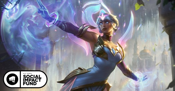 Karma is part of Riot Games charity campaign.