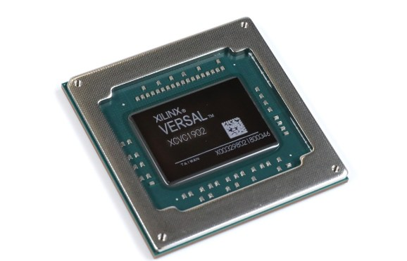 Xilinx's Versal chip can handle processing in 5G networks.