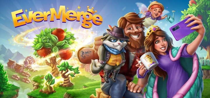 EverMerge is a puzzle game that involves modernized fairy tale characters.