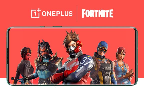 OnePlus 8 is the first smartphone that runs Fortnite at 90 frames per second.