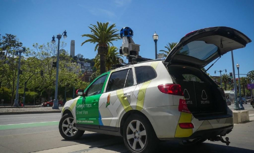 Η Aclima χρησιμοποιεί αυτοκίνητα Google Street View για τη μέτρηση της ρύπανσης.