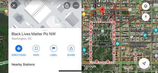 Apple and Google tweak maps, AI assistants to back Black Lives Matter 2